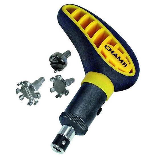 Champ MaxPro Wrench Kit with 3 Bit Sizes
