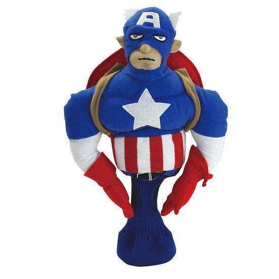 Golf Head Cover Captain America Driver