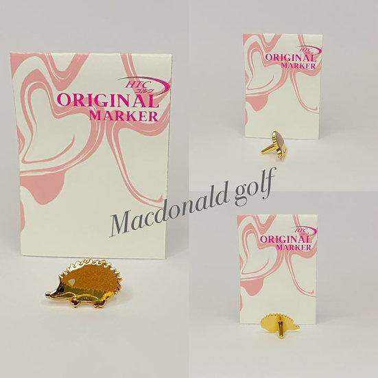 Golf Ball Marker pinn เม่นแคระ