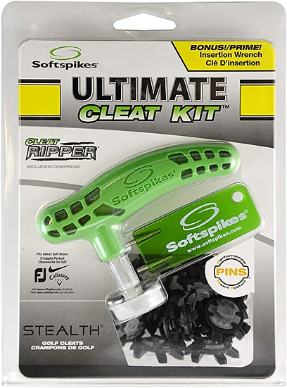 Softspikes Ultimate Cleat Kit STEALTH PINS