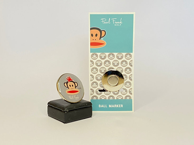 Paul Frank gray Ball Marker - with Hat Clip