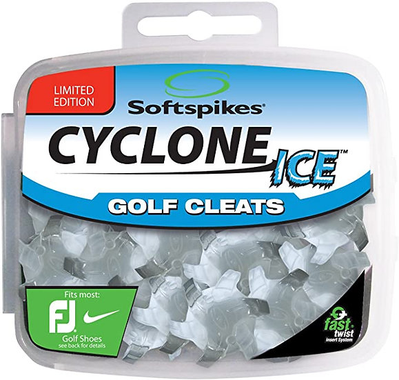 Softspikes Cyclone Ice Golf Cleats-Fast Twist (18 Spikes)