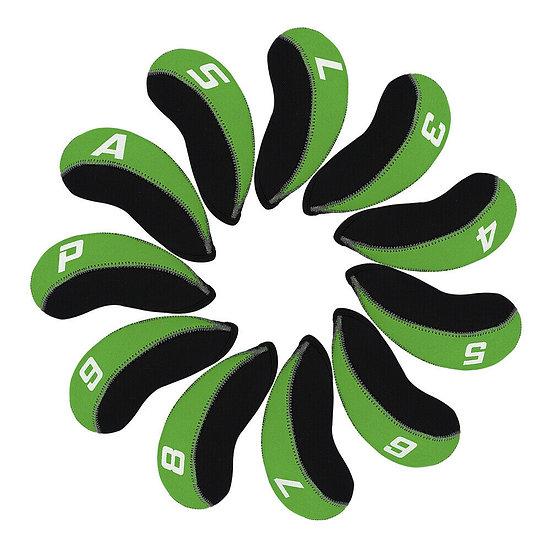 Cover Iron ผ้าประดาน้ำ-Black/Green