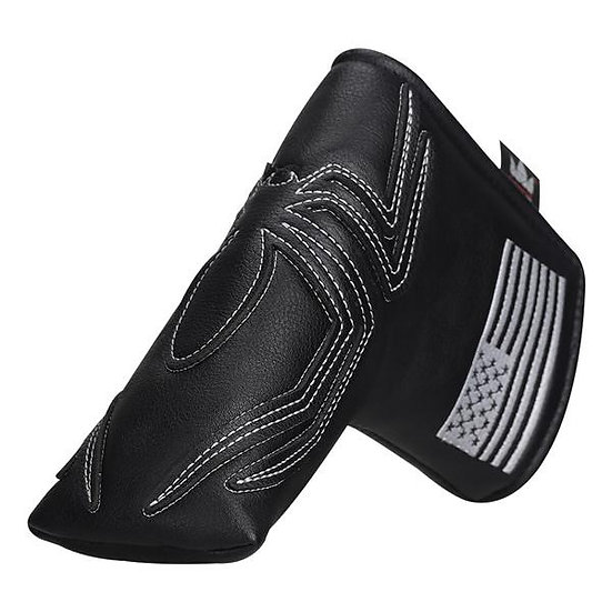 Black Leather Spider Blade Putter Headcover *NEW*