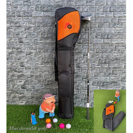 Half Set MG -กระเป๋าใส่ไม้กอล์ฟพับได้-Orange