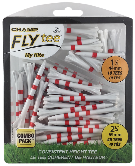 Golf Pride Tee System Evolution 3-1/4-+1-1/2-Inch Combo Pack Golf Tee Pride Syst