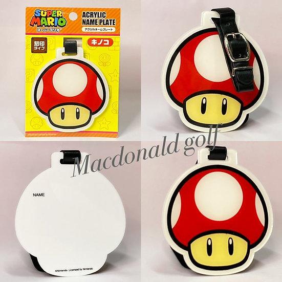 Acrylic name plate Super Mario