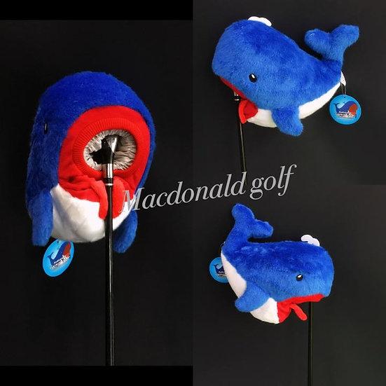 Golf Head cover Whale รุ่น WHC1510 ( สีน้ำเงิน )