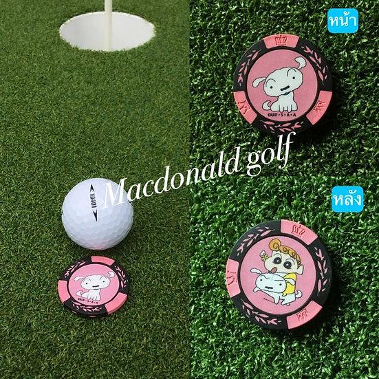 Golf Ball marker ฮิมาวาริกะชิโร่