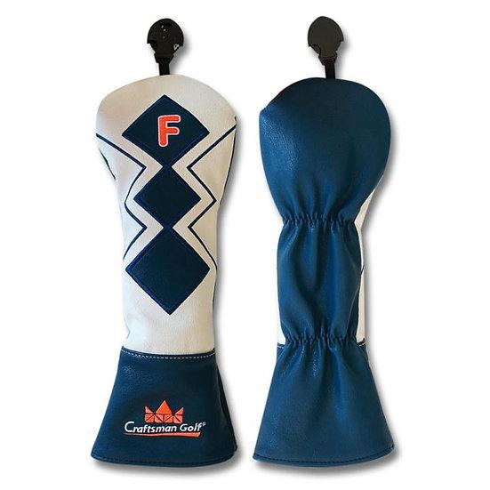 Golf head cover CM Blue Geometry-Fairway