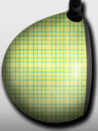 Plaid Green and Yellow