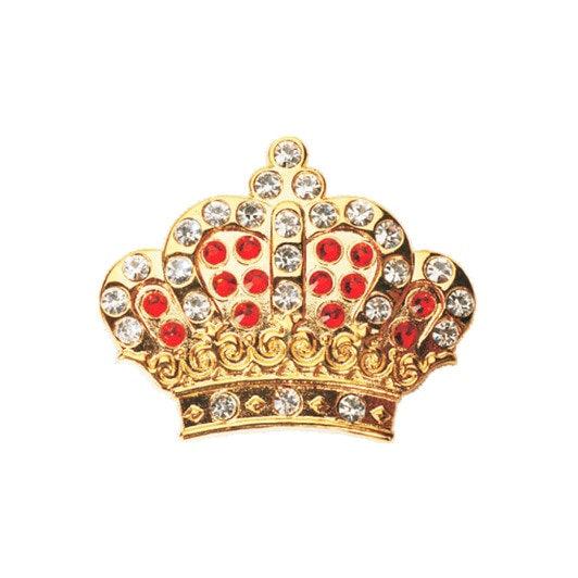 Navika Crown Ball Marker Crystals Swarovski® with Hat Clip