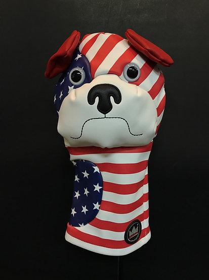 Cover CM for Driver USA Flag Bulldog