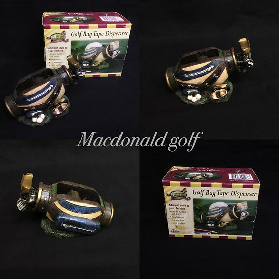 Golf Bag Tape Dispenser