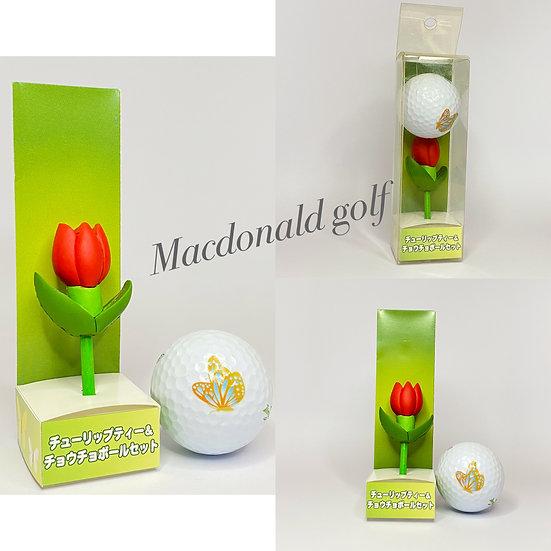Golf Ball Set-ดอกทิวลิป