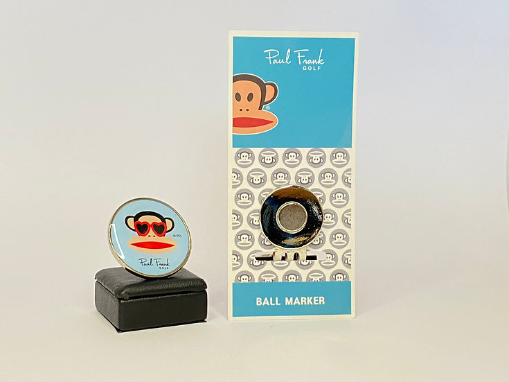 Paul Frank wearing glasses Ball Marker - with Hat Clip(ไม่รวมหมวก)
