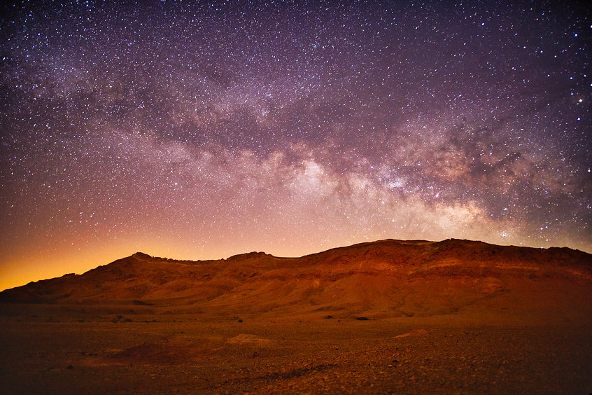shutterstock כוכבים במכתש .jpg