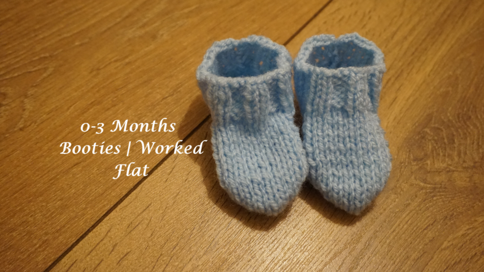 0-3 Months St St Booties