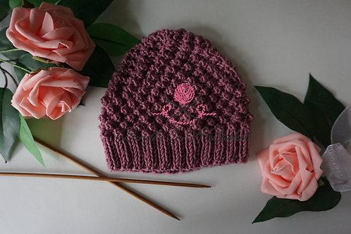 Trinity Stitch Hat | 3-6 Months | PDF