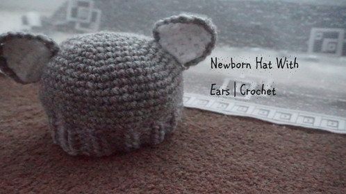 Preemie Hat With Ears | Crochet