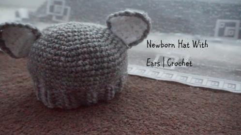 Preemie Hat With Ears | Crochet