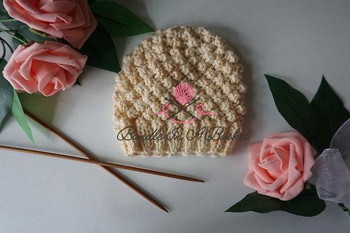 Trinity Stitch Hat | Newborn-3 Months | PDF