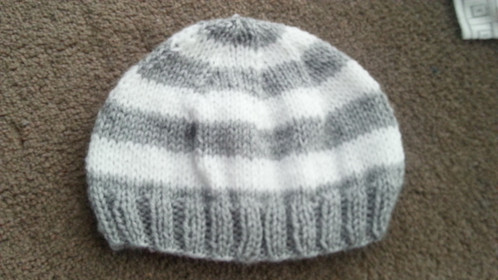 Basic Knitted Hat 3-6 Months