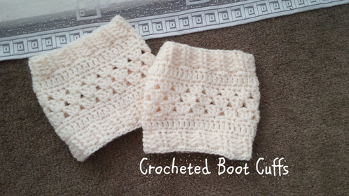 Crocheted Boot Cuff