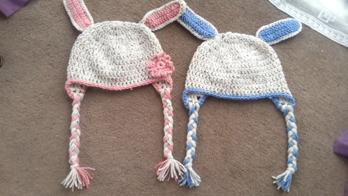 Toddler Bunny Hat 2-4 years | Crochet