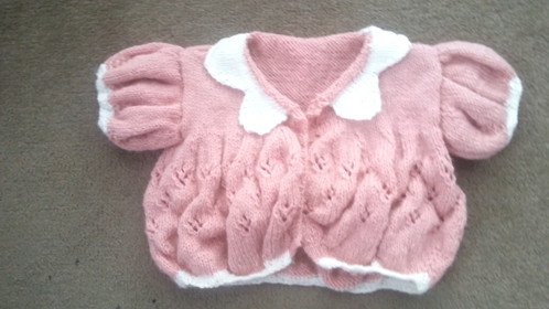 Baby Lace Cardigan