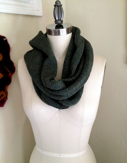 Machine Knit Cowl