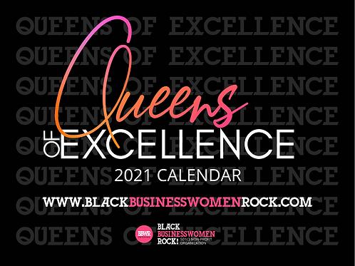 Queens of Excellence 2021 Calendar