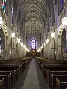 Duke Chapel in Durham