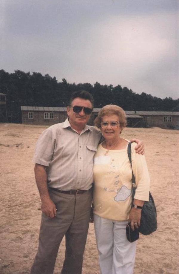 Sobibór Survivors Thomas Toivi Blatt and Esther Raab