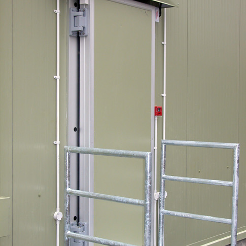 Hinged Chiller Door