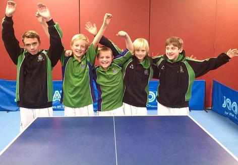 141114 Table Tennis winners