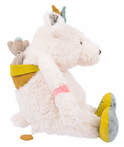 Moulin Roty Le Voyage D'Olga Soft Toy Musical Bear
