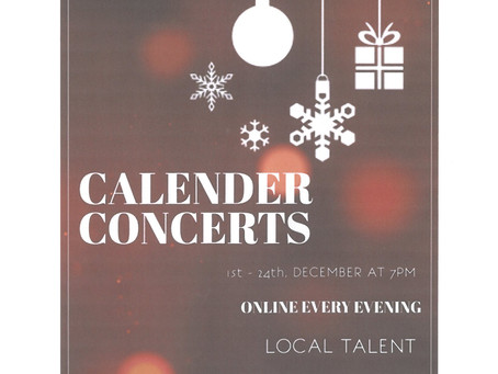 Calendar Concerts