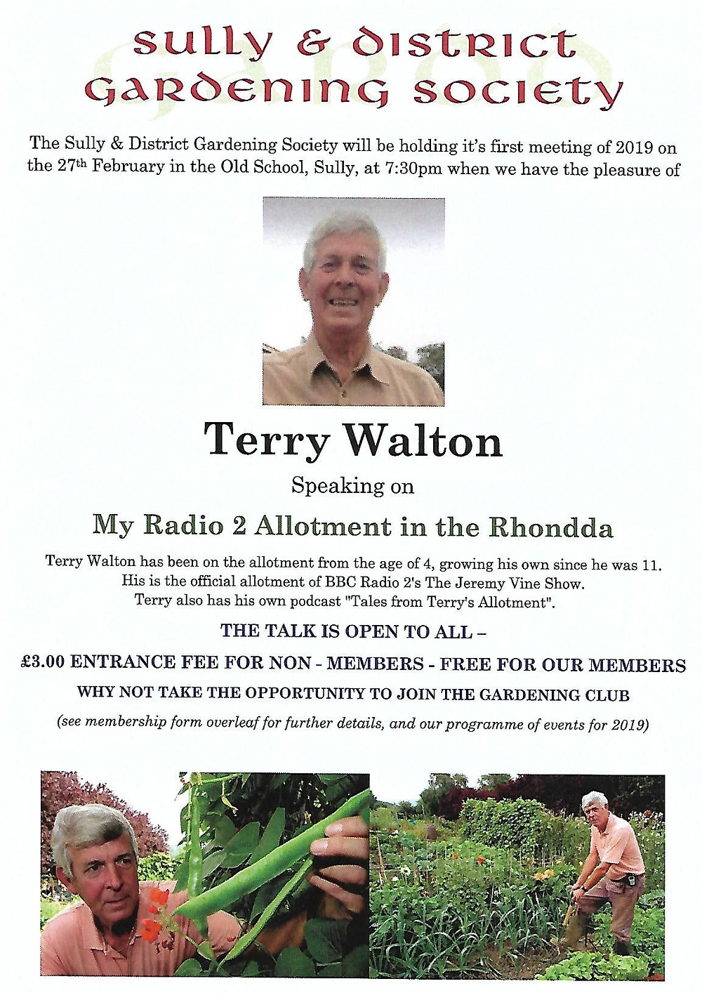 Terry Walton Poster