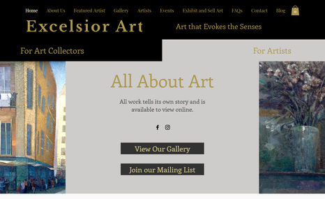 Excelsior Art The client wanted high end, sophisticated look and...