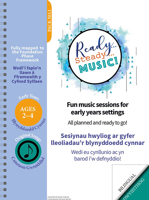 Ready, Steady, Music! Teaching Booklet (Bilingual- Welsh/English)