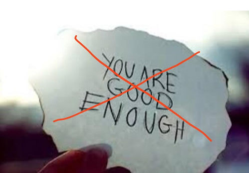 Image you are good enough