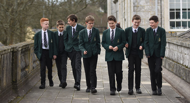 Image of students walking from Devonport High School for Boys