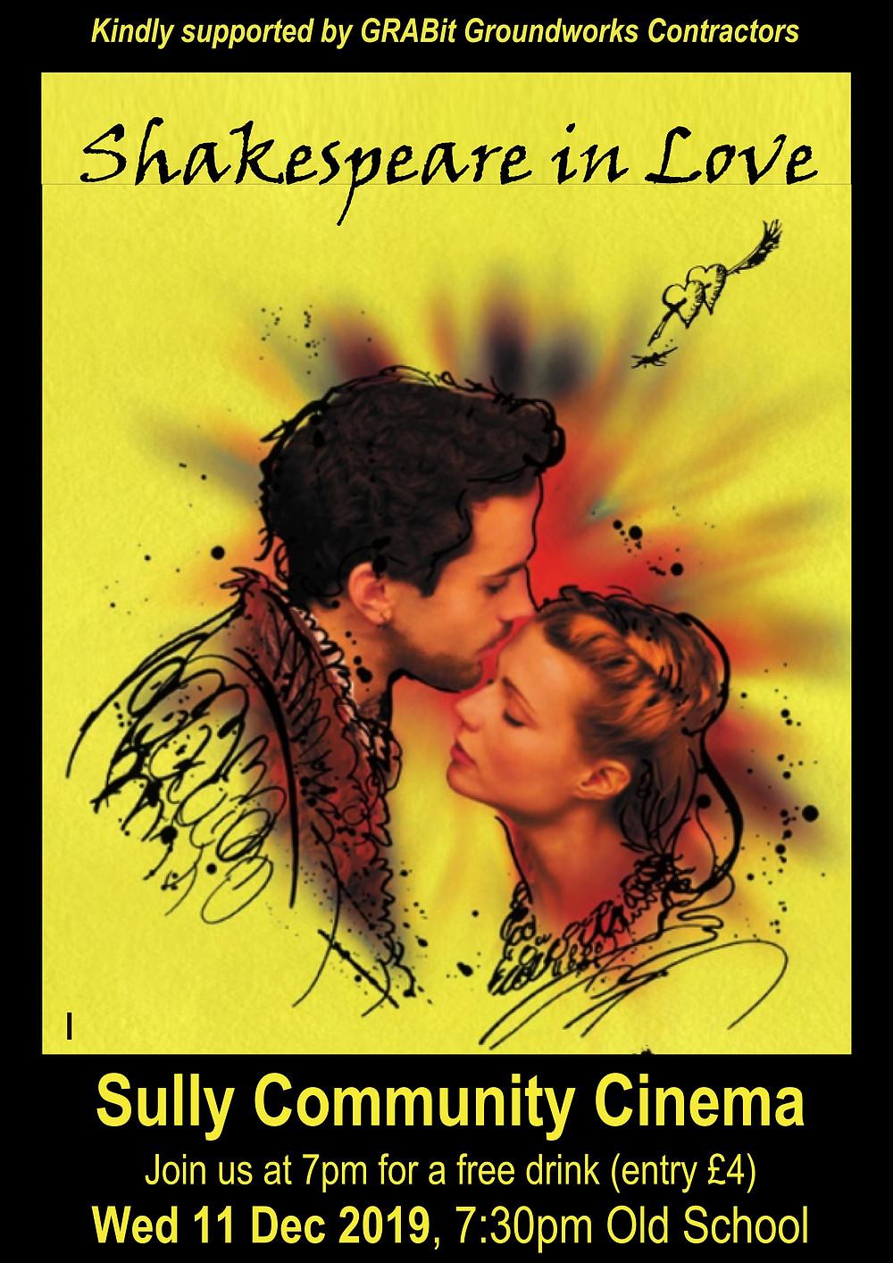 Poster for Cinema, Shakespeare in Love