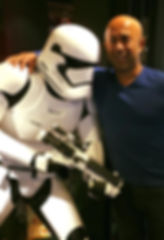 David with a Storm Trooper