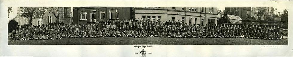 Whole School Photograph 1923