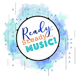 Ready steady music logo