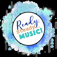 Ready steady music logo