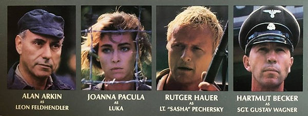 The cast of Escape from Sobibór