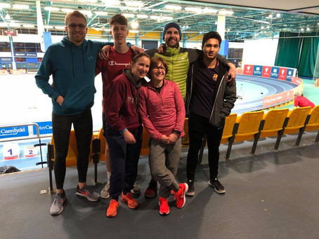 Cardiff Met GP2: New Year Open and Welsh Masters Indoor Champs